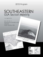 2012 Southeastern Meeting Program